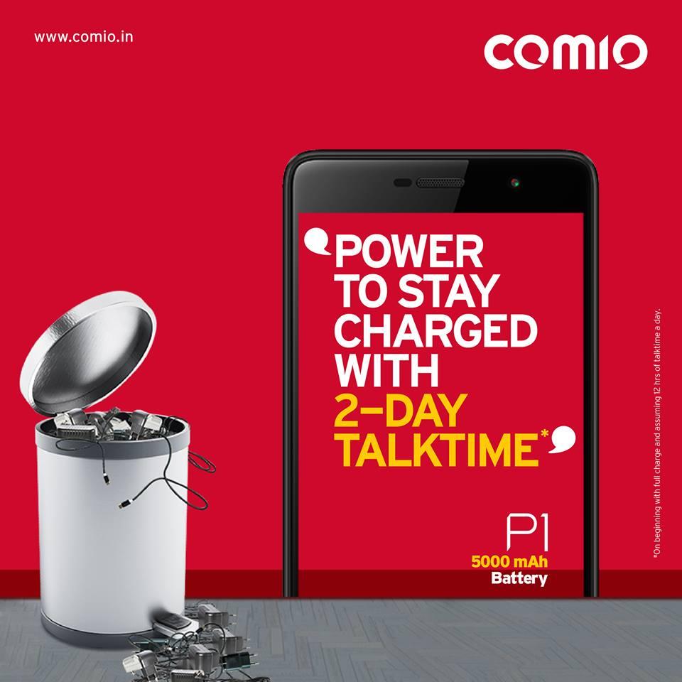 Comio P1 5000 MAh Battery
