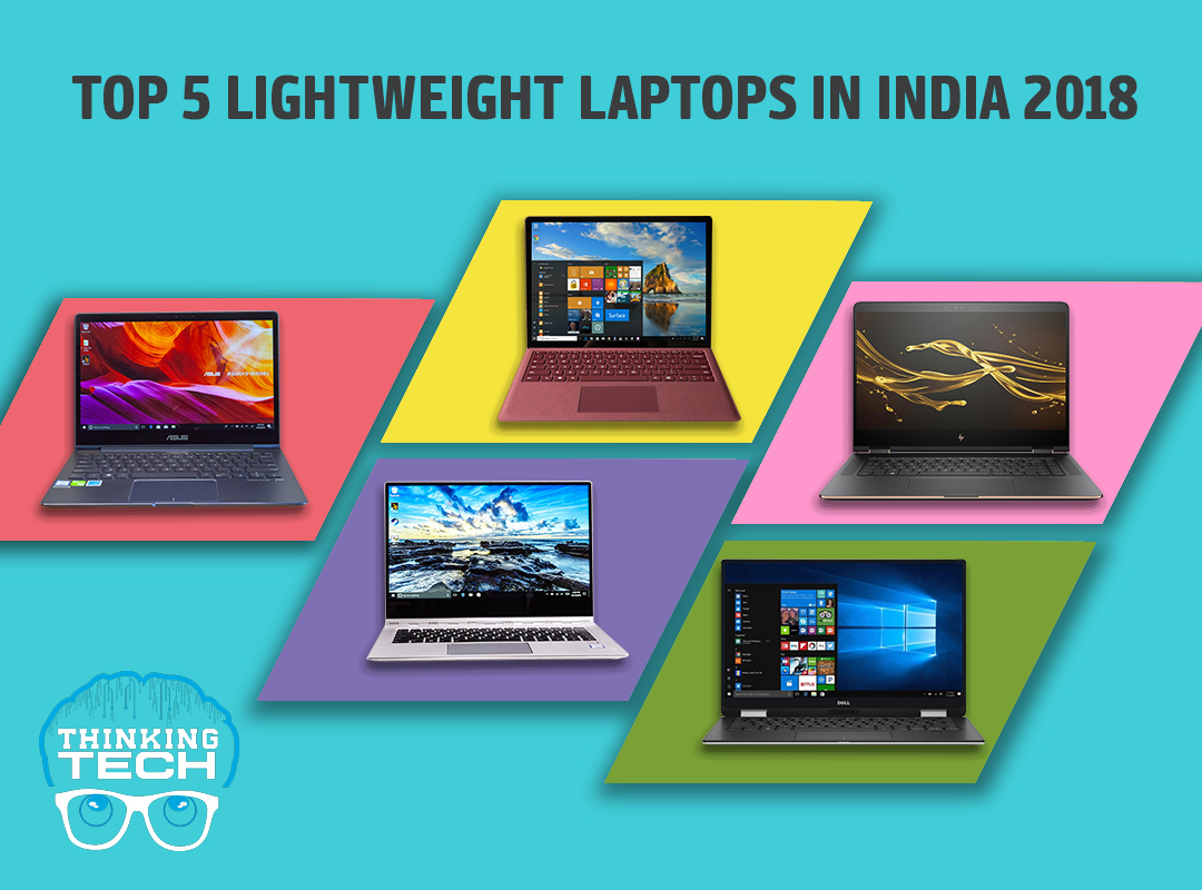 top-5-lightweight-laptops-in-India